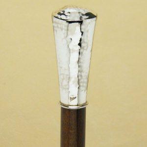 Bastone conico martellato lungo